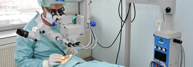 مصحات التشيك للعلاج الطبيعي - عمليات العيون